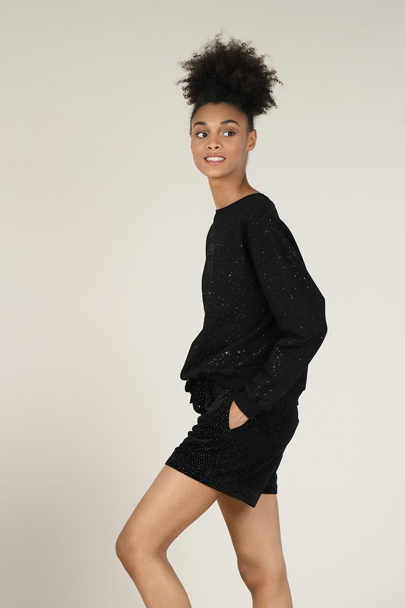 65659 velvet shorts